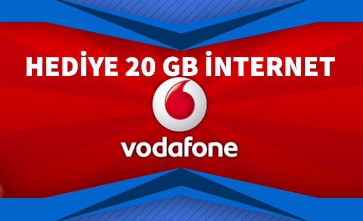 Vodafone 20 GB Ücretsiz İnternet Veriyor! Hediye İnternet Başvurusu Nasıl Yapılır?