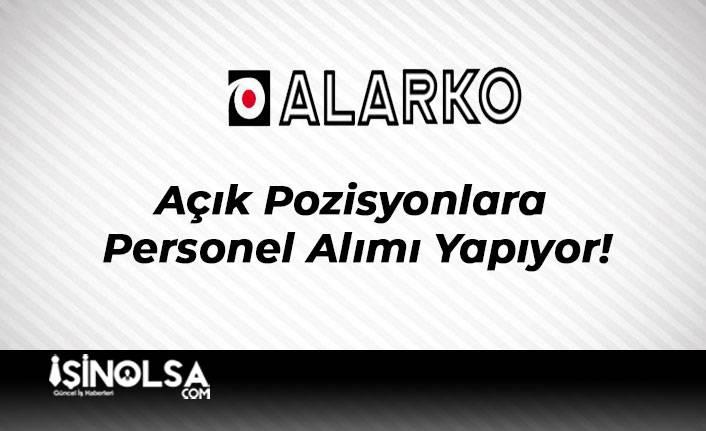 Alarko Holding Açık Pozisyonlara Personel Alımı Yapıyor!