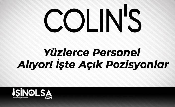 Colin's Yüzlerce Personel Alıyor! İşte Açık Pozisyonlar
