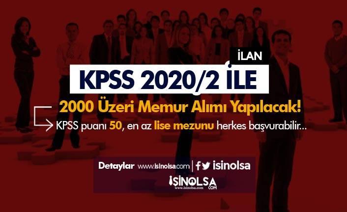 Lise, Ön Lisans ve Lisans Mezunu KPSS 2020/2 İle Memur Alımı Yaklaşıyor!