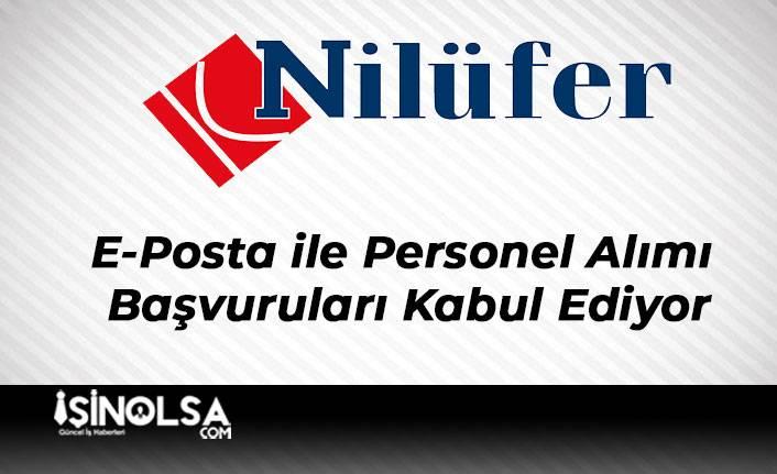 Nilüfer Turizm E-Posta ile Personel Alımı Başvuruları Kabul Ediyor