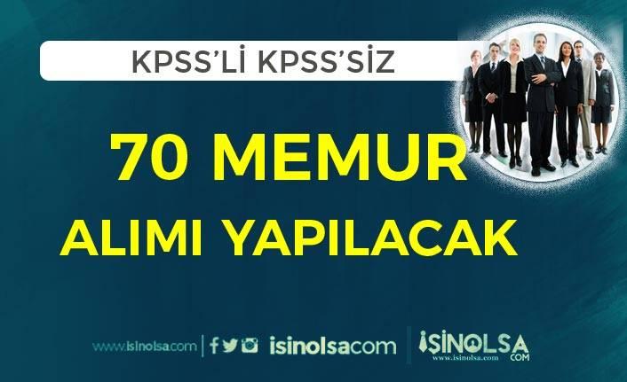 RTÜK ve Dışişleri Bakanlığı 70 Memur Alımı Sona Eriyor! KPSS'li KPSS Siz