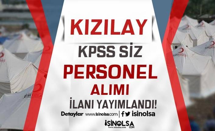 Kızılay KPSS Siz  Çağrı Merkezi Operatörü ve Doktor Alımı İlanı Yayımlandı