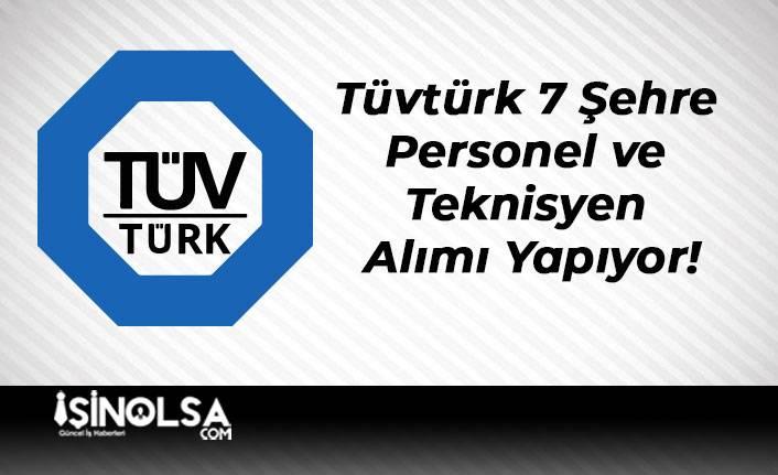 Tüvtürk 7 Şehre Personel ve Teknisyen Alımı Yapıyor!