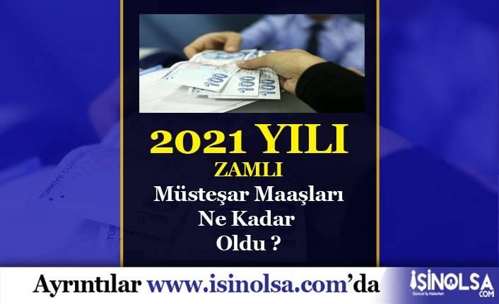 2021 Müsteşar Maaşları Ne Kadar Olacak?