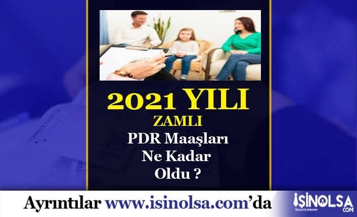 2021 PDR Maaşları Ne Kadar?