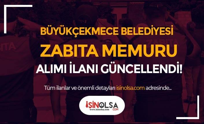 İstanbul Büyükçekmece Belediyesi Zabıta Memuru Alımında Düzeltme İlanı Geldi!