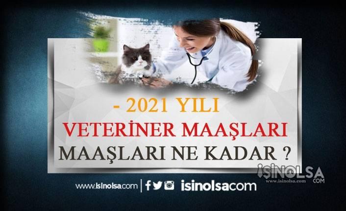 Veteriner Maaşları 2021