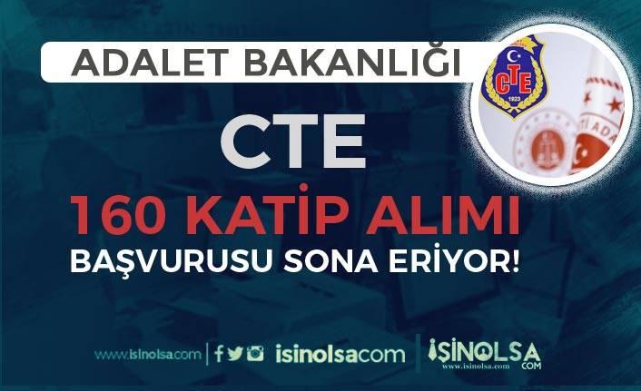 Adalet Bakanlığı CTE 160 Katip Alımı Başvuruları Bu Hafta Sona Eriyor!