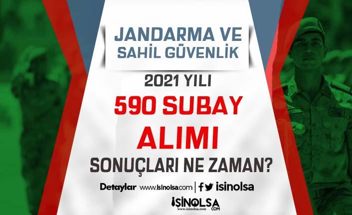 Jandarma ve Sahil Güvenlik 2021 Yılı 590 Subay Alımı Bitiyor! Sonuçlar Ne Zaman?