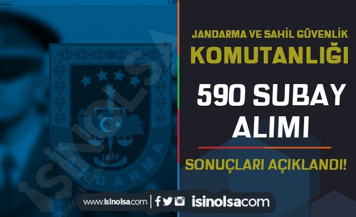 Jandarma ve Sahil Güvenlik 590 Subay Alımı Sonuçları Açıklandı!