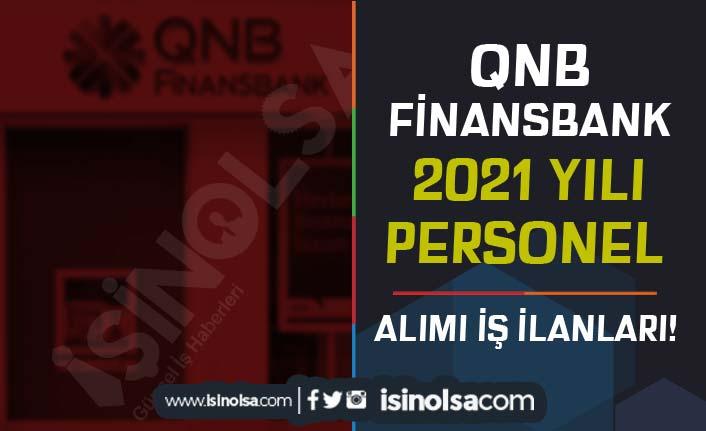QNB Finansbank Personel Alımı Güncel İş İlanları 2021