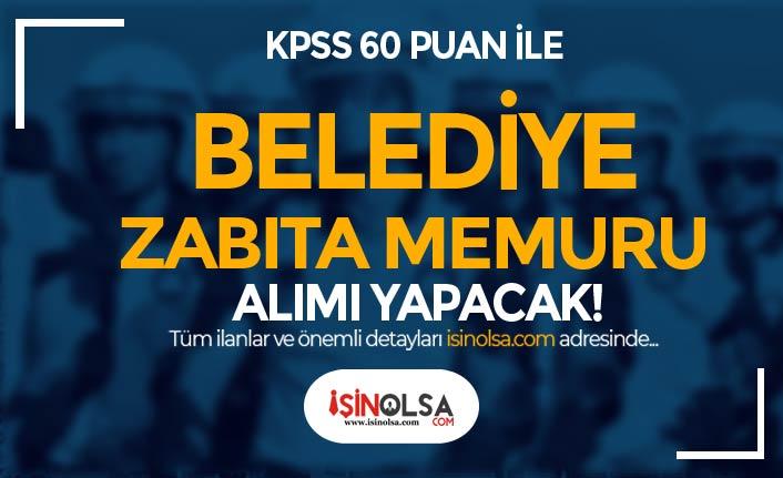 Yaylakent Belediyesi 60 KPSS ile Zabıta Memuru Alımı İlanı