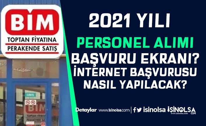 BİM Türkiye Geneli Personel Alımı İnternet Başvurusu Nasıl Yapılır?