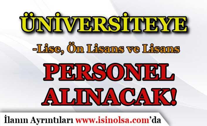 Eskişehir Teknik Üniversitesi 30 Sözleşmeli Personel Alımı İlanı Yayımladı!