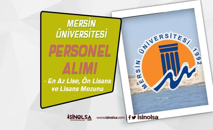 Mersin Üniversitesi Hemşire, Ebe ve Tekniker Alımları Sona Eriyor! Sonuçlar Ne Zaman?