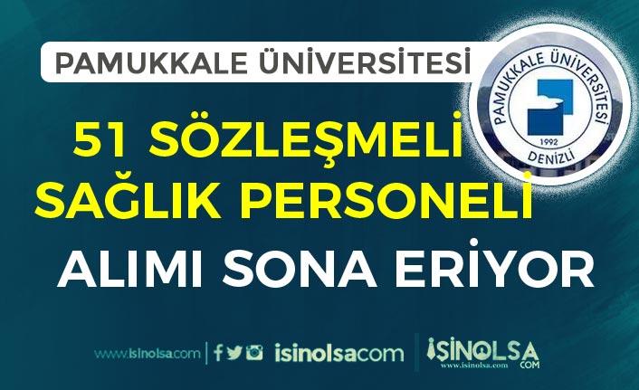 Pamukkale Üniversitesi 51 Personel Alımı Sona Eriyor! Sonuçlar Ne Zaman?
