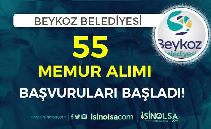 Beykoz Belediyesi 55 Memur Alımı Başladı! Kimler Başvuru Yapabilir?