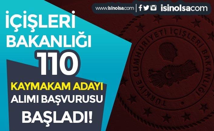 İçişleri Bakanlığı 110 Kaymakam Adayı Alımı ÖSYM Üzerinde Başladı