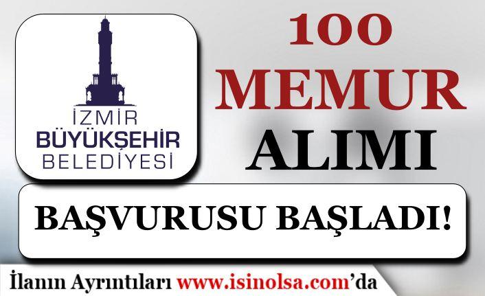 İzmir Büyükşehir Belediyesi 100 Memur Alımı Başladı! İtfaiye Eri Belgeleri?