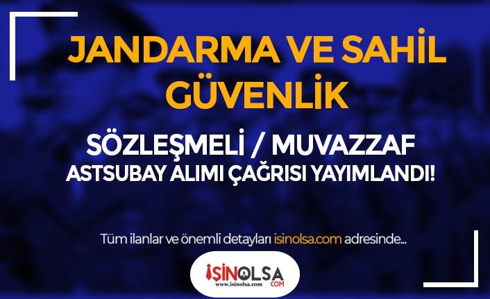 Jandarma Ve Sahil Güvenlik 2021 Astsubay Alımı Sınav Çağrısı Duyuru Yayımlandı!