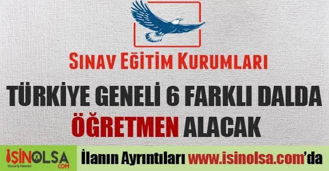 Sınav Eğitim Kurumları Türkiye Geneli Öğretmen Alımı