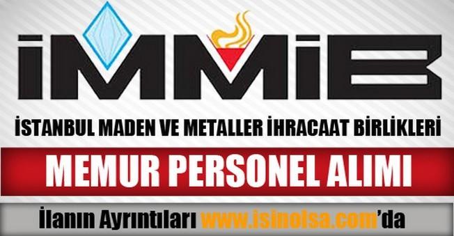 İstanbul Maden ve Metaller İhracaat Birlikleri Uzman Yardımcısı Alımı