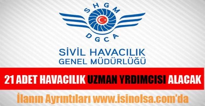 SHGM Havacılık Uzman Yardımcısı Alımı 2015