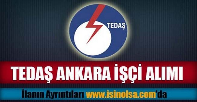 TEDAŞ Ankara İşçi Alımı 2015