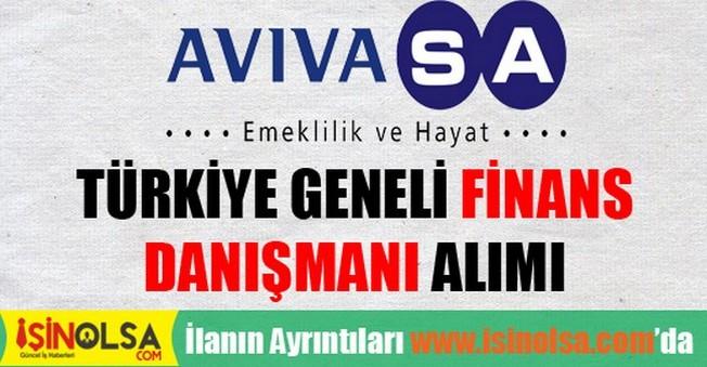 AvivaSA Türkiye Geneli Finansal Danışman Alımı 2015