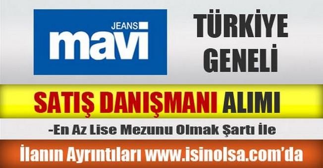 Mavi Jeans Türkiye Geneli Satış Danışmanı Alımı