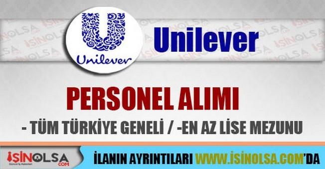 Unilever Personel Alımları