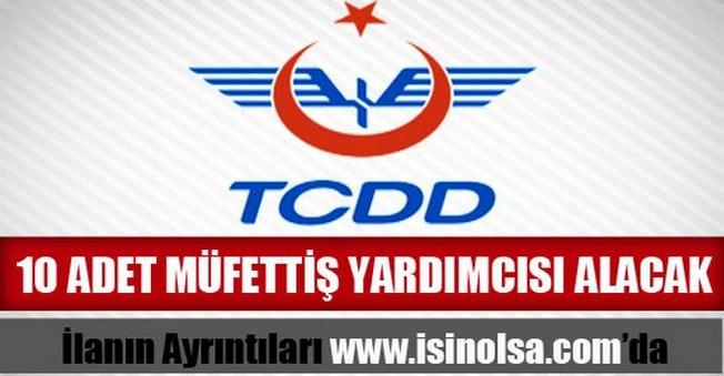 TCDD Müfettiş Yardımcısı Alımı