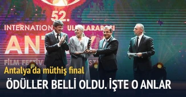 52. Uluslararası Antalya Film Festivali Ödül Töreni