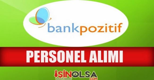 BankPozitif Personel Alımı 2014