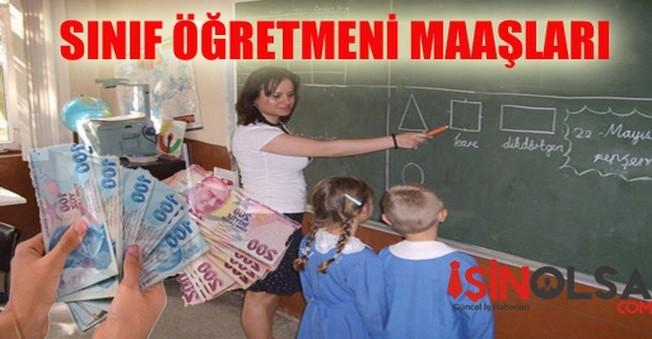 Sınıf Öğretmeni Maaşları