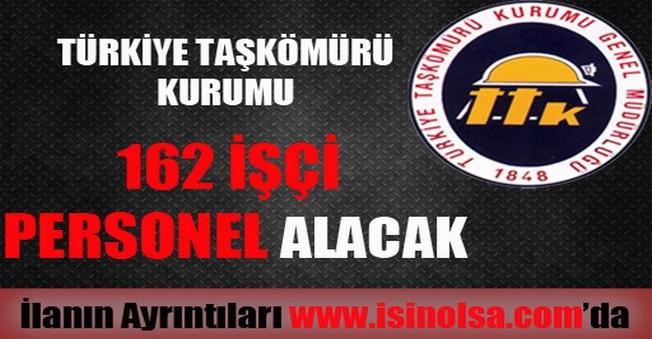 Türkiye Taş Kömürü Kurumu İşçi Personel Alımı