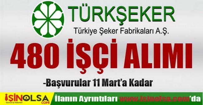 Türkiye Şeker Fabrikaları İşçi Alımı 2015