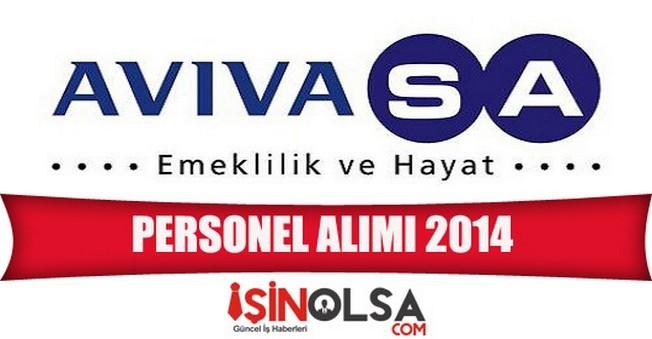 AvivaSa Emeklilik Personel Alımı 2014