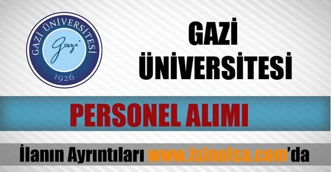 Gazi Üniversitesi Öğretim Üyesi Alımı