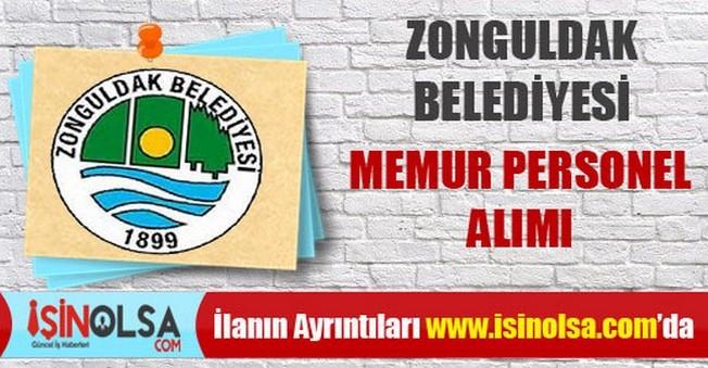 Zonguldak Belediyesi Memur Personel Alımı