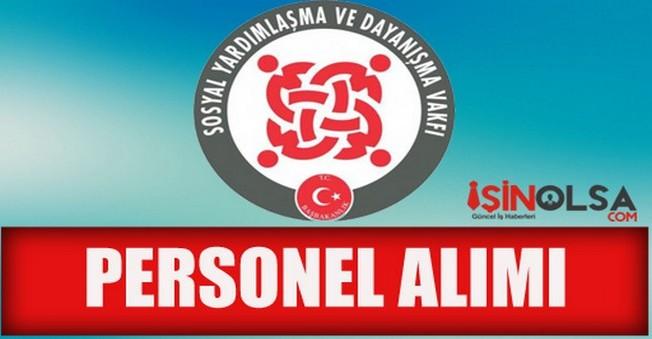 Erzincan Kemaliye SYDV Personel Alımı