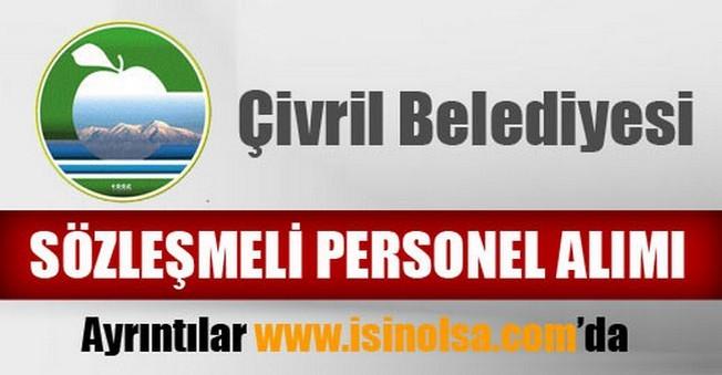 Çivril Belediyesi Sözleşmeli Personel Alımı