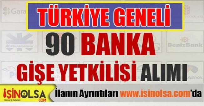 Yabancı Sermayeli Banka Gişe Yetkilisi Alımı 2015