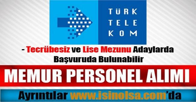 Türk Telekom Memur Personel Alımı 2015