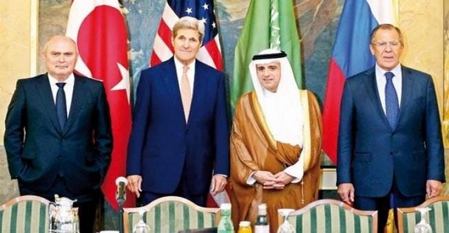 ABD, Türkiye, Rusya Ve Suudi Arabistan Suriye İçin Toplantı