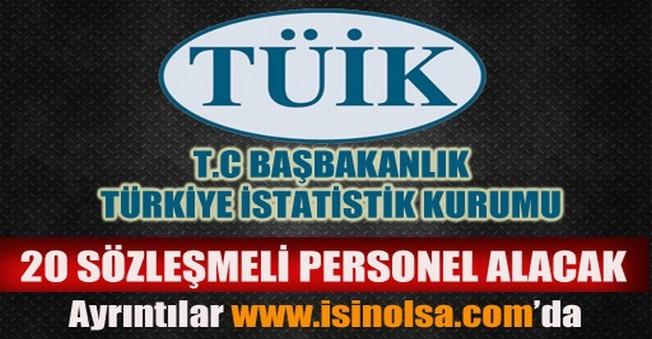 Türkiye İstatistik Kurumu Sözleşmeli Personel Alımı