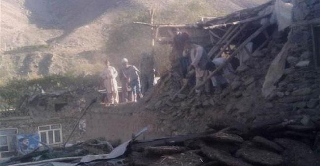 Afganistan'da 7,6 Büyüklüğünde Deprem Yaşandı