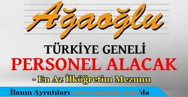 Ağaoğlu En Az İlköğretim Mezunu Personel Alacak