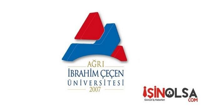 Ağrı İbrahim Çeçen Üniversitesi İç Denetçi Alımı